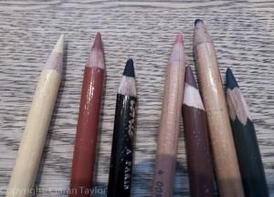 Blunt pencils